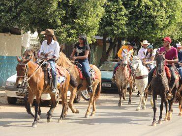 1° Cavalgada da Comitiva Cavalo de Aço