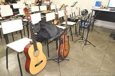 Prefeitura de Unaí amplia oferta de vagas para a Escola de Música