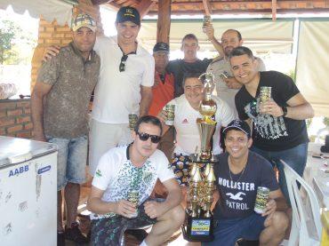 Time Campeão do 21° Torneio do Boi, comemora o título em uma mega confraternização