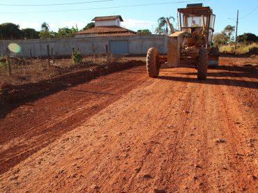 Obras de asfaltamento só vão parar no período das chuvas