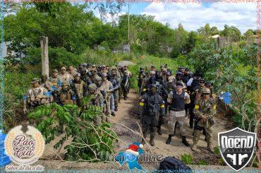 Legião WARFARE reune cerca de 80 operadores