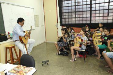 ESCOLA MUNICIPAL DE MÚSICA ABRIU O ANO COM 150 NOVOS ALUNOS