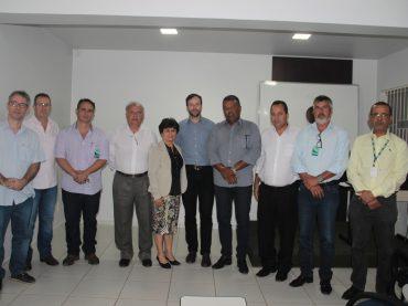 Reunião entre ACE/CDL Unaí, e representantes da FCDL e Cemig