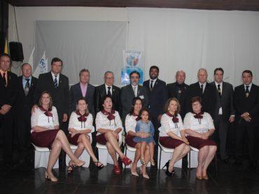Posse dos novos presidentes do Rotary Club Unaí e Banco de Cadeiras de Rodas Gestão 2018/2019