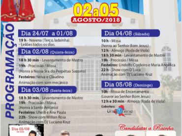 74° Tradicional Festa de Romaria Senhor Bom Jesus em Garapuava- MG