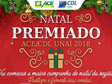 ACE/CDL realiza lançamento da Campanha de Natal 2018