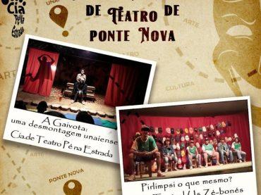 Grupos de Teatro de Unaí no Festival Nacional de Ponte Nova