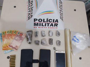 Tráfico de drogas Delivery! PM prende três suspeitos