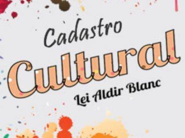 Cadastro Cultural lei Aldir Blanc